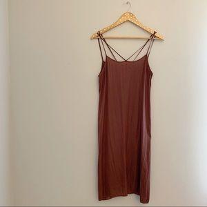 Anthropologie Dresses - Anthropologie slip dress by Eloise